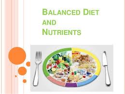 Balanced Diet Chart Ppt Balanced Diet Ppt