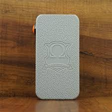 Modshield For Hexohm 3 0 V3 180w Craving Vapor Silicone Case Byjojo Sleeve Cover Wrap Skin Grey