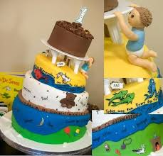 Baby Boy First Birthday Cake Images Boys With Teddy A Simple But