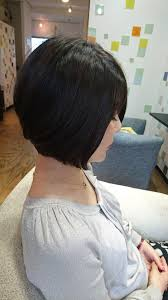 50代女性にオススメの前下がりショートボブ 大人女性の髪型心理サイト