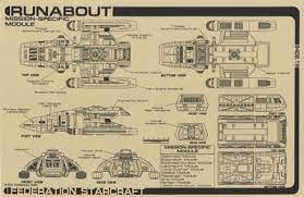 Multiple realities(covers information from several alternate timelines). Star Trek Blueprints Jackill S Starfleet Runabout Danube Class