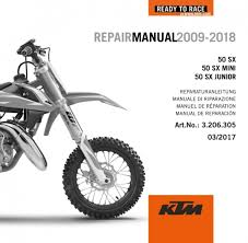 2018 ktm 50 mini. Brilliant Ktm DVD REPAIR MANUAL 50 SX 20092018 And 2018 Ktm Mini