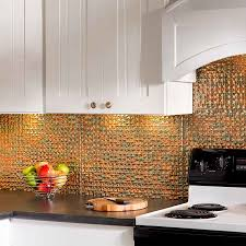 Kitchen Backsplash Tin Kitchen Fasade Backsplash For Gorgeous Kitchen Design Cinelerranet