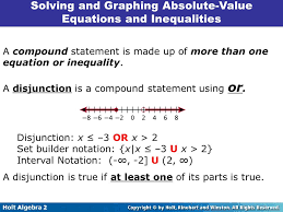 5 solving and graphing absolute value equations and inequalities