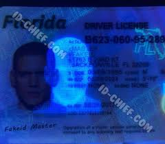 Cards Id-chief Fake Maker Florida Id Scannable