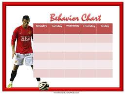 Soccer Behavior Chart
