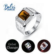 2019 <b>Bolaijewelry</b>,Men'S <b>Zultanite</b> Color Change <b>Ring 925 Sterling</b> ...