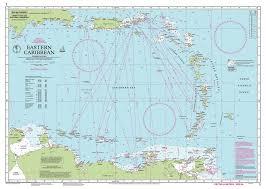 Imray Nautical Chart Imray 1 Eastern Caribbean