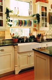 Kitchen Cabinet Display Farmhouse Sinks And Plate Holder Cool Way To Display My Colorful