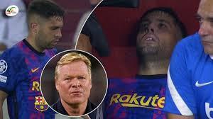 Image saisissante: Malade, Koaman aurait forcé Jordi Alba à jouer face au  Bayern ! - YouTube