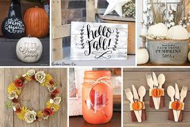 Small Picture Fun Fall Home Dcor Projects to Make Now Cricut