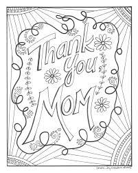 Dank U Mamma Kleurplaat Etsy