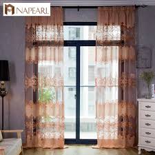 Window Treatments For Living Room Online Get Cheap Sheer Window Treatments Aliexpresscom Alibaba