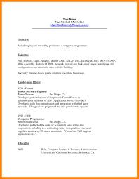 12 Computer Programming Resumes Job Apply Form