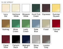 rustoleum paint color chart8 best RustOleum Colors images on Pinterest  Color charts Paint