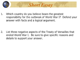 world war i and the russian revolution exam review notes ppt  short essay