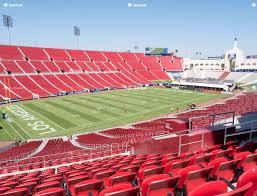 Los Angeles Memorial Coliseum Section 210 A Seat Views