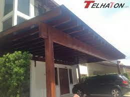 Veja as melhores referências de telhado de vidro para você se. Pergolado De Madeira Garagem Com 10 M Coberturas Telhaton