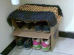 Shoe Rack Designs diy shoe rack cardboard design 8838 by guidejewelry.us