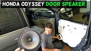 honda odyssey front door speaker removal replacement
