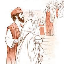 Joseph et Marie amènent Jésus au Temple | Vie de Jésus