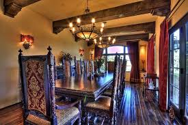 rustic spanish furniture. Rustic Dining Room With Spanish Style Furniture R