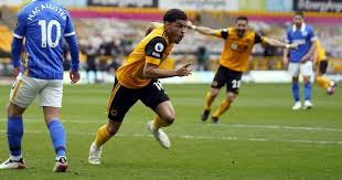 Burnley brought to you by: Wolves 2 Brighton 1