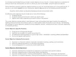 Career Goals Statement Examples Adorable Professional Goals For Resume Tylermorrisonco