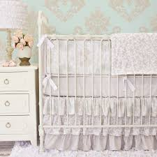 full size of bedding design baby nursery gorgeous girl room decoration with ruffle white lace