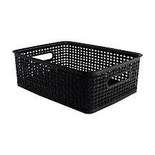 office storage baskets. See Jane Work Decorative Storage Medium Office Baskets I