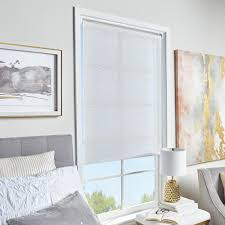 Light Filtering Window Shades Cut To Size White Cordless Light Filtering Roller Shades 23 In W X 64 In L