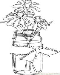 Small Picture Jar clipart coloring page Pencil and in color jar clipart