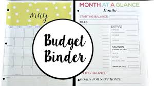 track your spending track your spending my new budget binder youtube