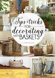 Best 25 Home Decor Baskets Ideas On Pinterest  Storage Furniture Baskets For Home Decor