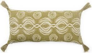 jaipur living cosmic by nikki chu pillow satin cnk66 green white rug studio
