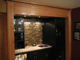 Rock Backsplash Kitchen Stone Backsplash Ideas For Kitchen Adding Stone Veneer Into The