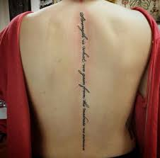 Spine Tattoos Quotes