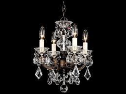 schonbek la scala four light 12 wide mini chandelier
