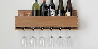 10 best wall mounted wine racks in 2018 wall wine bottle racks holders