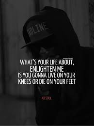 Hiphop Plays A Huge Role In My Life Since I Was Kid I've Always Extraordinary Ab Soul Quotes