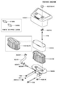 kawasaki fh601v parts list and diagram bs17 ereplacementparts com