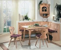 Table Set: Corner Breakfast Nook Table Set - 19 - 6 Pc Counter Height Corner