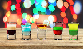 best shots shooter recipes a picture of 5 great shots