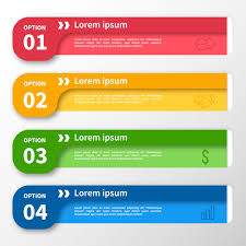 banner design template infographic template multicolor banner design vector free download
