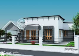 Small Picture 1300 Sq Ft Single Floor Contemporary Home Design