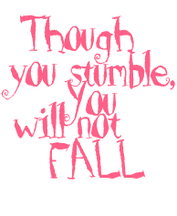 Image result for stumble but not fall