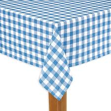 Tablecloth Pattern Delectable Lintex Buffalo Check 48 In X 48 In Navy 48% Cotton Tablecloth For