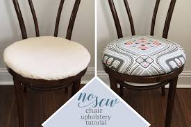 fabric to upholster dining chairs. no sew dining chair upholstery tutorial fabric to upholster chairs l