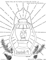 Our charming friend pypus will present you with the main categories of the website, each with. Isaiah 9 Coloring Pages People In Darkness Have Seen A Great Light Ministry To Children