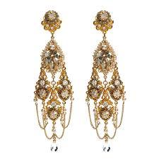 miriam haskell gold chandelier earrings m03964 e01 lovemyswag gold chandelier earrings